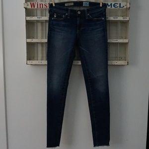 AG | Medium Wash Legging Super Skinny Ankle Jeans